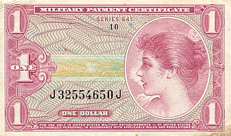 1 Dollar MPC - Front
